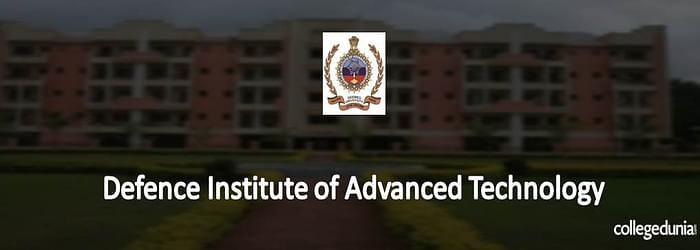 Defence Institute of Advanced Technology Pune M.Tech Admission 2015 Notification