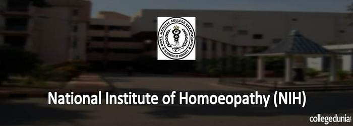 National Institute of Homeopathy BHMS Admission 2015 Notification