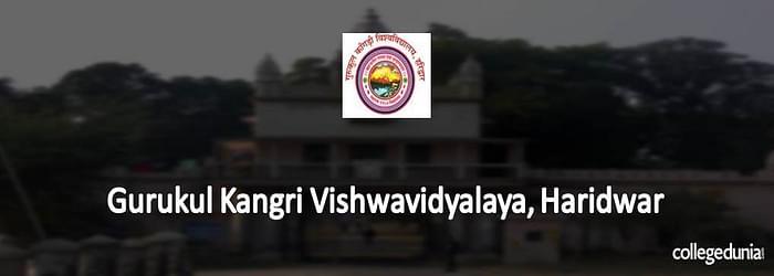 Gurukula Kangri Vishwavidhyalaya (GKV) Haridwar Ph.D. Admissions 2015 Notification