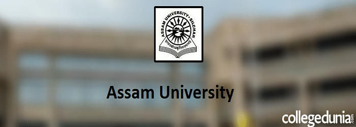 Assam University, Silchar Admission 2015 Notification
