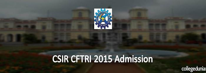CSIR CFTRI Mysore Integrated M.Sc. & Ph.D. 2015 Admission Alert