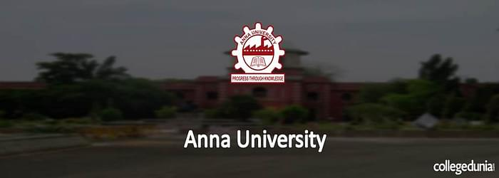 Anna University BE/B.Tech Admission 2015