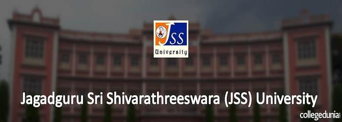 JSS University Mysore announces BDS Admission 2015 Notification