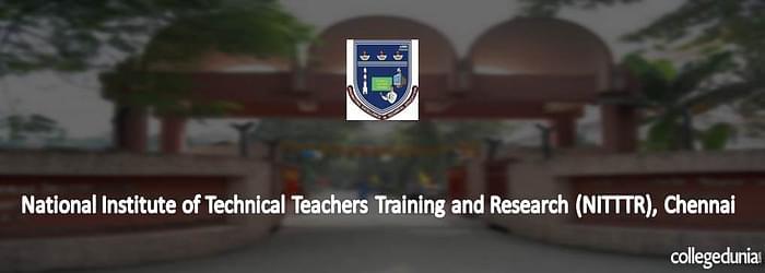 NITTTR Chennai M.Tech Admission 2015 Notification