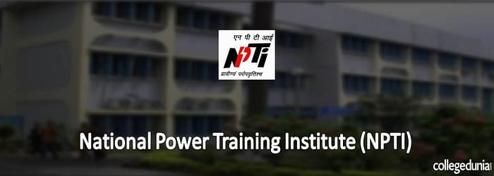 National Power Training Institute (NPTI) PGDC 2015 Admission Notification