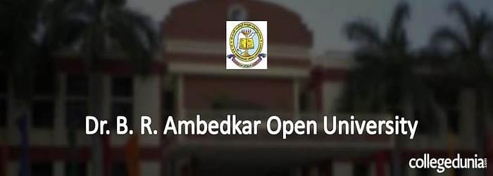 Dr. B.R. Ambedkar Open University 2015 MBA Admission Alert