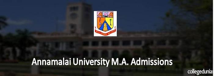 Annamalai University Distance M.A/ M.A (LE)Admissions 2015