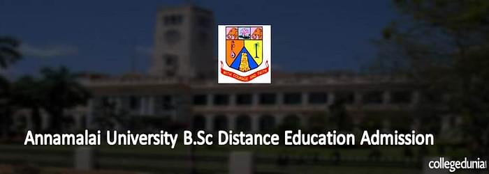 Annamalai University B.Sc Distance Education Admission
