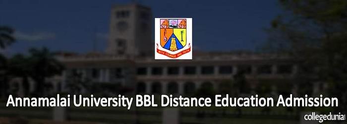 Annamalai University BBL Distance Education Admission 2015