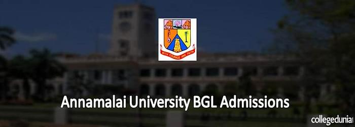 Annamalai University Distance BGL Admission 2015