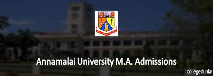 Annamalai University M.A. Admissions