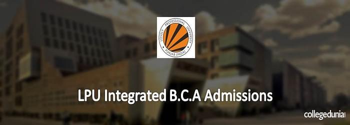 LPU BCA/BCA (Hons.) Admission