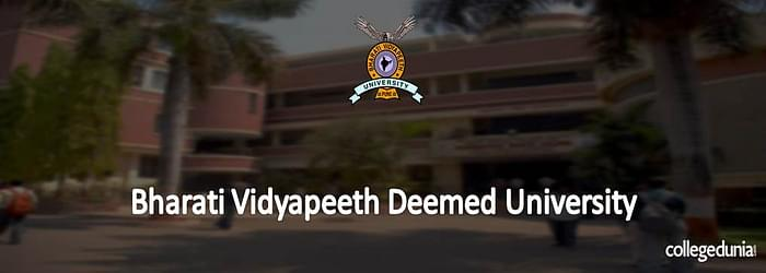 Bharati Vidyapeeth University(Deemed) Ph.D. Admissions 2015 Notification