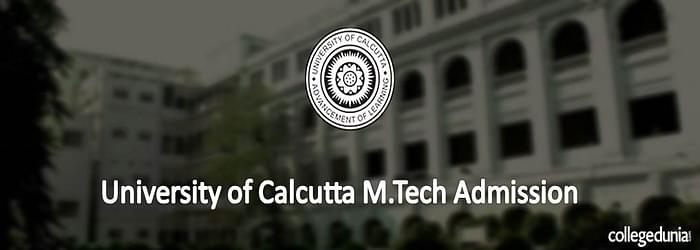 University of Calcutta M.Tech Admission 2015 Notification