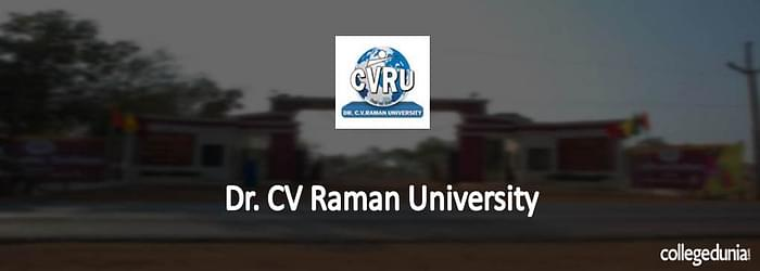 Dr. C.V. Raman University M.Phil Admission 2015 Notification