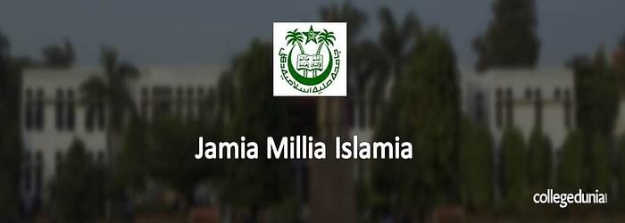 Jamia Millia Islamia Admissions 2015 Notification