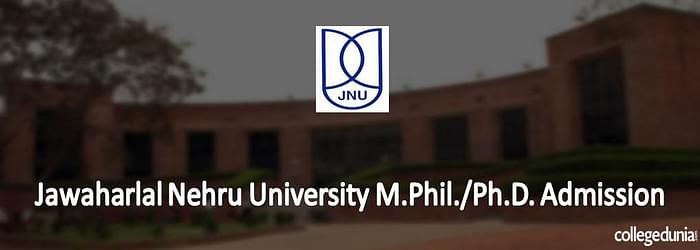 Jawaharlal Nehru University M.Phil./Ph.D. Admission 2015