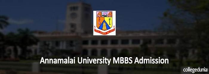 Annamalai University MBBS Admission 2015