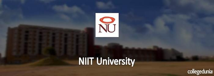 NIIT University MBA Admissions 2015 Notification
