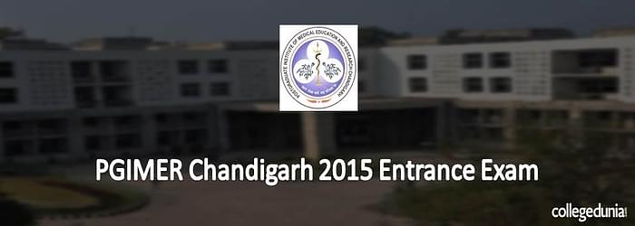 PGIMER Chandigarh 2015 Entrance Exam Notification for B.Sc. Programme
