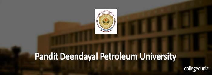 Pandit Deendayal Petroleum University Ph.D. Admission 2015 Notification