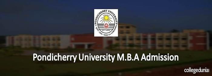 Pondicherry University M.B.A. Admission