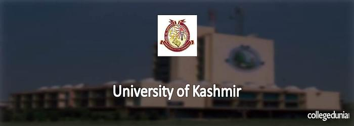 University of Kashmir 2015 Admission Notification for B.Ed.