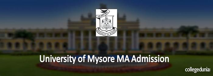 University of Mysore MA Admission