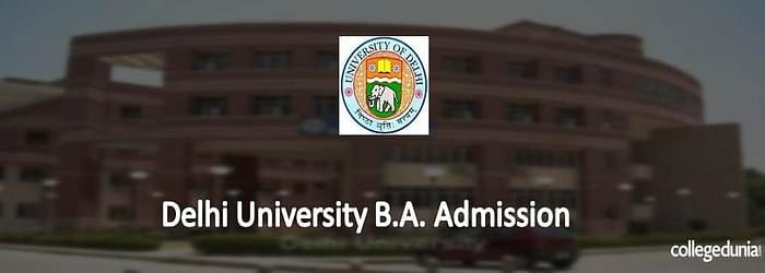 Delhi University B.A. Admission