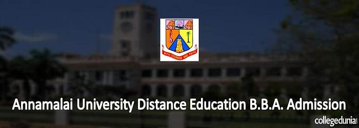 Annamalai University Distance Education B.B.A.