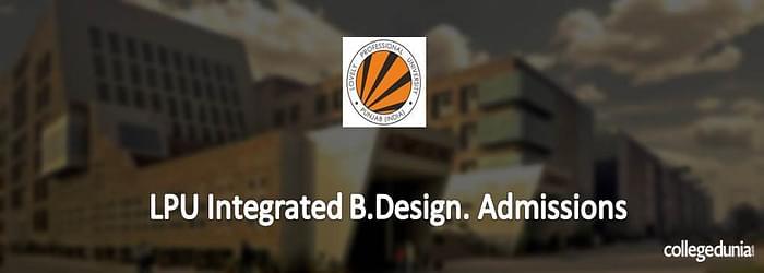 LPU B.Design Admission 2015