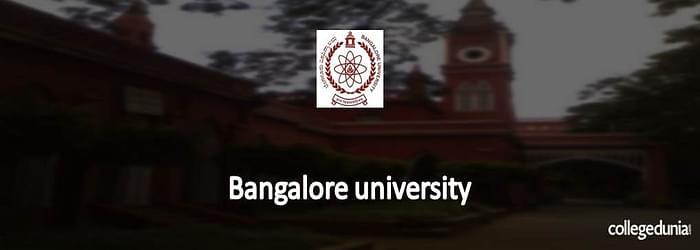 Bangalore University B.A LL.B Admission 2015 Notification