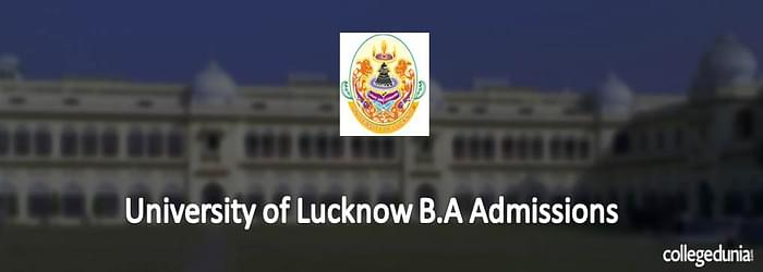 University of Lucknow B.A Admissions 2015