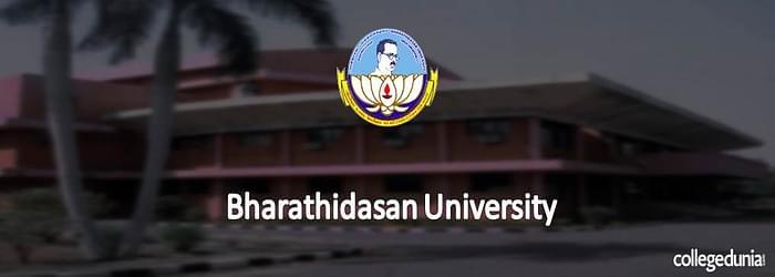 Bharathidasan University 2015 Admission Notification for M.Sc.