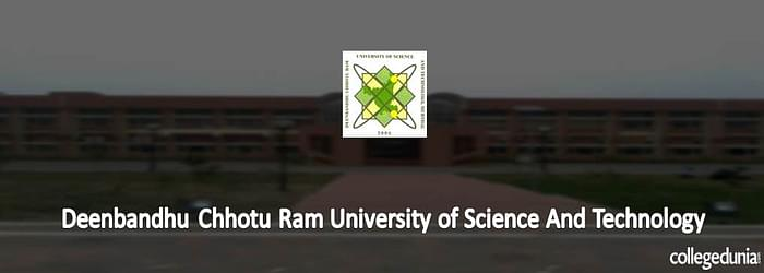 DCRUSTM Sonepat announces PG Courses Admission 2015 Notification