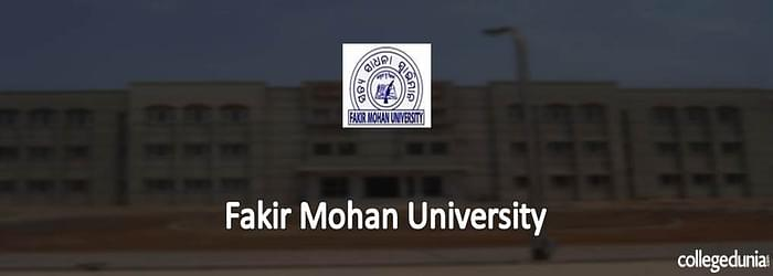 Fakir Mohan University Balasore PG Admissions 2015 Notification