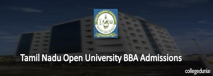 Tamil Nadu Open University BBA Admission