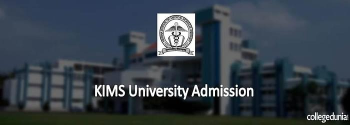 KIMS University 2015 Admission for M.Ch. Programme