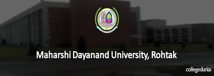 Maharishi Dayanand University Rohtak PG Admissions 2015 Notification