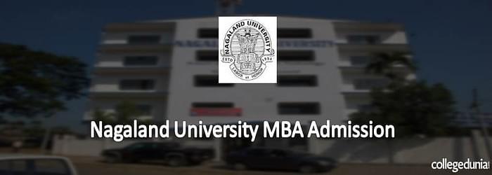Nagaland University MBA Admissions 2015 Notification
