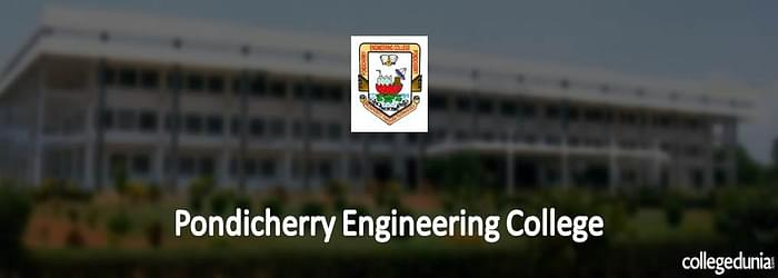 Pondicherry Engineering College PG Admission 2015 Notification
