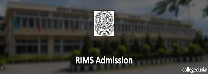 RIMS Admission 2015 in M.Ch. Programme
