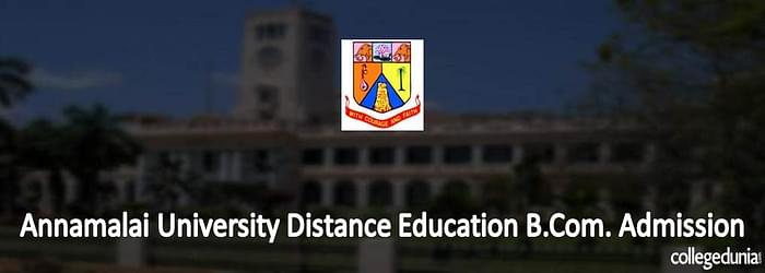 Annamalai University Distance Education B.Com. 2015