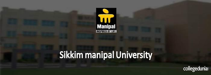 Sikkim Manipal University (SMU), Sikkim MCA Admission 2015 Notification