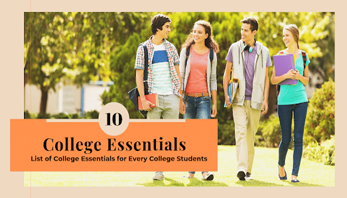 Essential Things You Should Always Have When in College