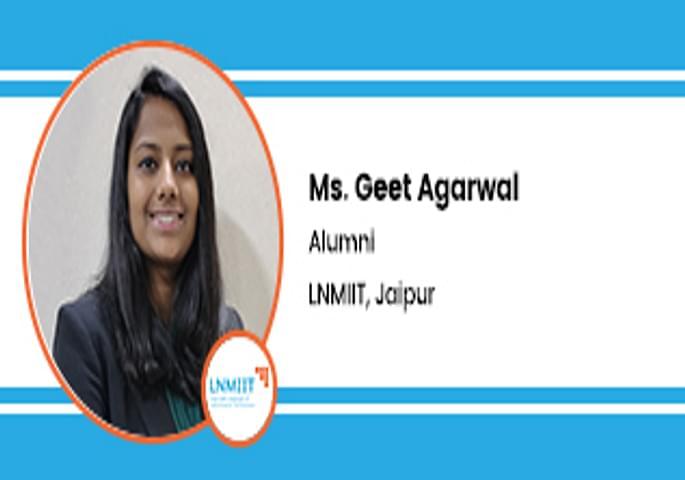 Interview Ms Geet Agarwal Alumni at LNMIIT Jaipur