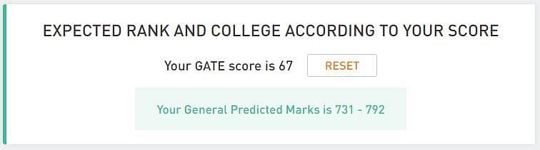 gate rank predictor