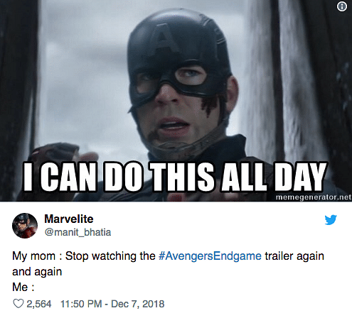 Captain America Endgame Meme