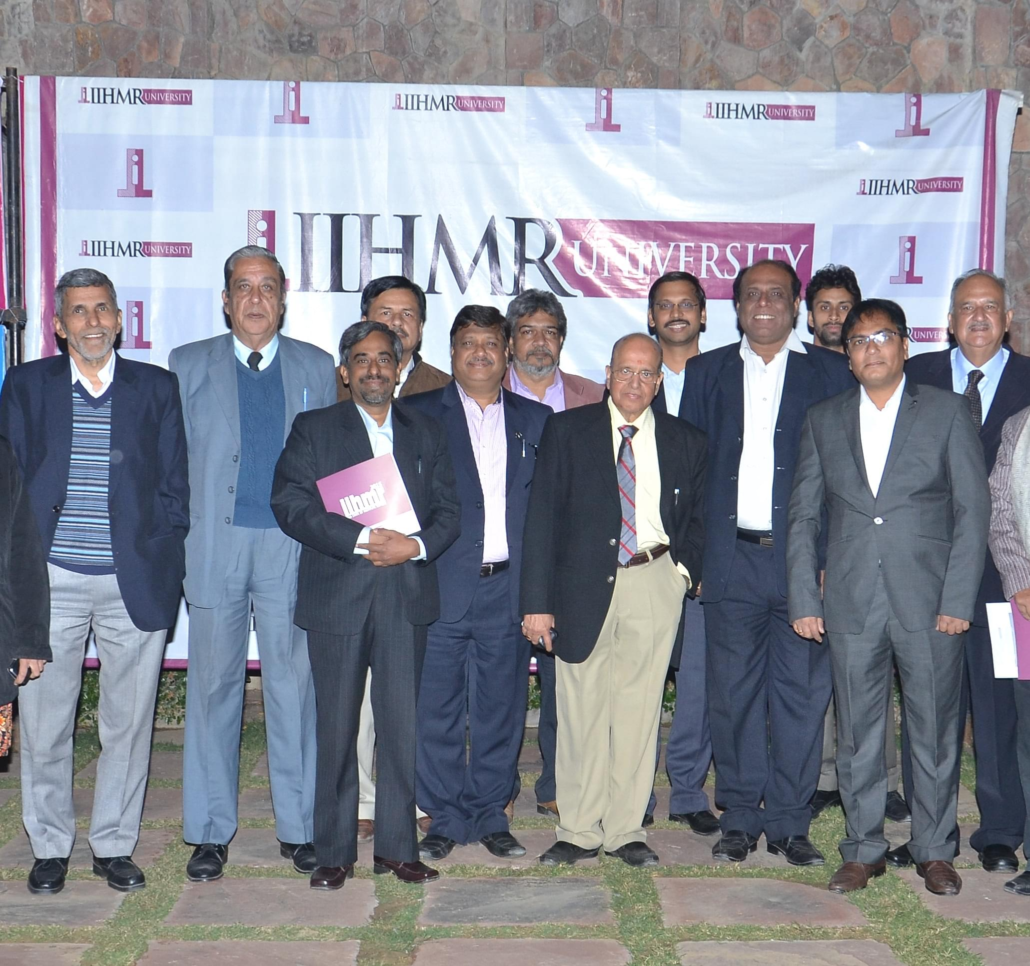 Mr. Kasturirangan at IIHMR university