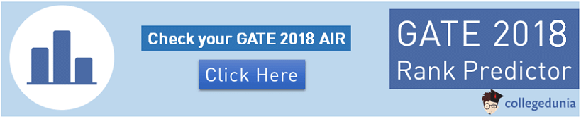 GATE Rank Predictor, GATE 2018, GATE, GATE Result